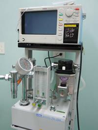 麻酔機、麻酔モニター