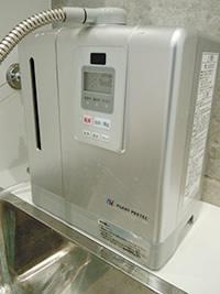 中性電解水精製機