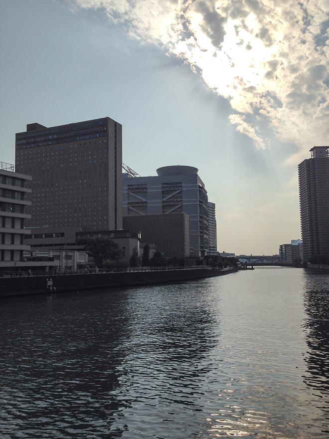 学会が開催された大阪の風景